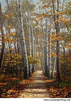 Khananin Sergey - 'Path to Autumn'