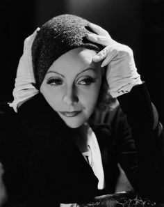 Portrait of Greta Garbo for Inspiration directed by Clarence Brown, 1931. Photo by Clarence Sinclair Bull