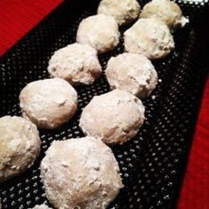 Gluten Free & Vegan Russian Tea Cookies
