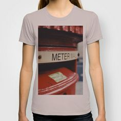 London Mailbox T-shirt by Anja Hebrank - $22.00  #london #uk #england #autumn #mailbox #red #redmailbox #streetphotography #canon #present #decoration #kitchen #interior #colour #photography #picture #travelling #travelphotography #design #individual #society6 #print #art #artprint #interior #vintage #retro #tshirt #shirt #fashion #clothing #clothes #top