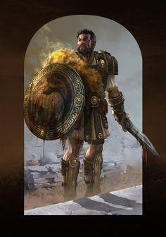 Jason for Mythic Battles : Pantheon by StephaneGantiez on DeviantArt