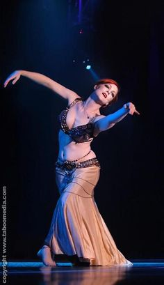 Mira Betz.. Lovely arms and emotion with in her dance.  love the blue light.