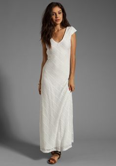 LOVERS + FRIENDS Vanity Fair Dress in White Stretch  This trendy line will have you impressing lovers and friends alike.