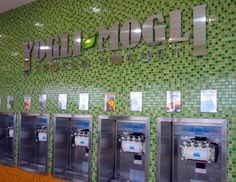 Yogli Mogli Self Serve Frozen Yogurt Bar, Sandy Springs GA. Every Friday when my mom picked my sister and I up from school, we would beg her to take us to Yogli Mogli for frozen yogurt. It was the most hip place to hang out, and we would always run into a friend (or sometimes, we would hope, a crush!). Our school was just up Roswell Road and everyone who was anyone would meet up there. Definitely a place to stop by if you have kids or love a good cup of froyo!