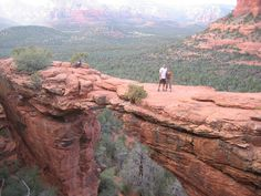 Devil's Bridge Trail and Hiking in Sedona, Az.