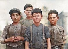 Documentairenet Docu De (in)gekleurde geschiedenis 2: Kinderarbeid De ingekleurde geschiedenis 2 Kinderarbeid 12 Doffer Boys Georgia USA 1...