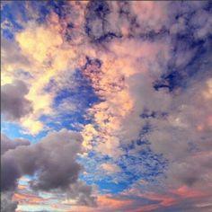 Vanilla Sky #sky #beautiful #sunrise #sunset