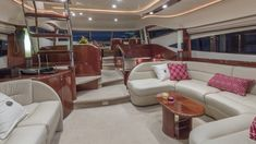 Plenty of interior space awaits onboard All Good! ⚓️ available for cruising in Florida and the Bahamas this winter! Hair In The Wind, Guest Cabin, Luxury Yachts, How To Fall Asleep, Life Is Good, Cruise, Relax, Florida, Space