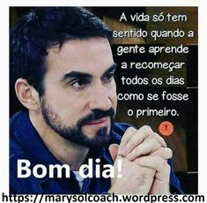 bom dia Peace Love And Understanding, Day For Night, New Years Eve Party, Peace And Love, Quotations, Improve Yourself, Coaching, Funny Memes, Humor