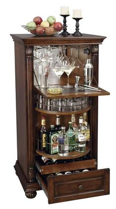 Small E Hack 10 Ways To Fit A Home Bar Anywhere Diy Cabinets Liquor And
