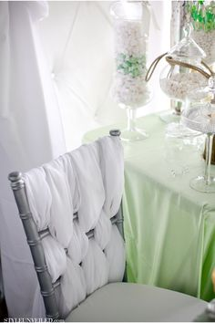 Alders Photography / Hustle and Bustle Weddings and Events / Light Green, White, and Silver Wedding Inspiration / Style Unveiled Paper Styled Shoot Challenge Feature