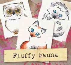 Fluffy Fauna (Design Pack)_image