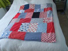 My first 'quilt' :-) (machine made)