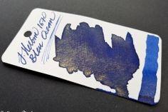 J. Herbin - 1670 edition - Bleu Ocean - The Clumsy Penman's InKfusion Site