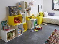 El estante modular también es apto para libros de gran formato