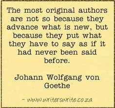 Quotable - Johann Wolfgang von Goethe