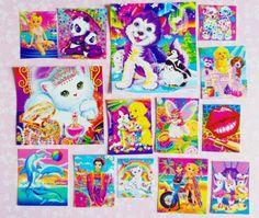 1-loose-Lisa-Frank-sticker-lot