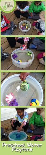 Preschool Water Experiments - Voices from the Ville