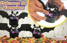 Dulceros de Vampiro / Murciélago/ Halloween / Día de Muertos / Dulces / Niños