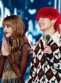Bts Jungkook And V, Blackpink And Bts, Jimin, Bts Girlfriends, Kpop Couples, Best Kpop, Purple Love, Blackpink Lisa, Taehyung