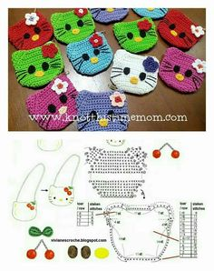 Hello Kitty Crochet Coin Purse                                                                                                                                                                                 More