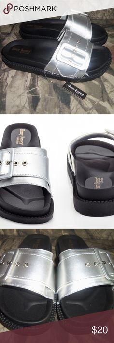 daaa46278e1 Slip-On Comfort Sandals with Buckle 7. Ladies SlipsComfortable SandalsBelt  ...