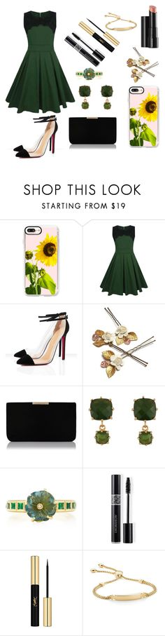 """""""Untitled #416"""" by aya-kaddoura ❤ liked on Polyvore featuring Casetify, WithChic, L.K.Bennett, Patchington, BROOKE GREGSON, Christian Dior, Yves Saint Laurent, Arbonne and Monica Vinader"""