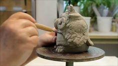 Töpfer°LUST: Keramik-Eule