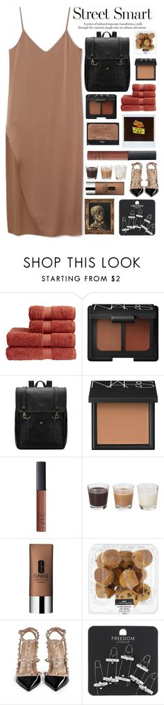 """""""Untitled #2122"""" by tacoxcat ❤ liked on Polyvore featuring Christy, NARS Cosmetics, Clinique, Valentino, Topshop, women's clothing, women, female, woman and misses"""