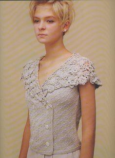 detail .... collection crochet collars .. #inspiration_crochet #diy GB. una serie di colletti all'uncinetto interessanti.