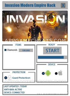 9 Best Invasion Modern Empire Hack 2018 Updated images