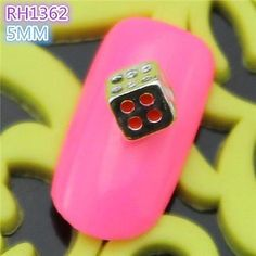 Kaifina 10PCS RH1362 Special Design Luxury 3D Alloy nail art DIY Nail beauty Nail Decoration Nail Salon * More info could be found at the image url.