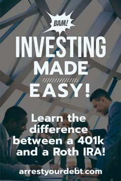 Quelle est la différence entre un Roth IRA et un 401 (k) / 457 - Finance Investment Tips, Investment Portfolio, Investment Group, Investment Companies, Investment Property, Investing In Stocks, Investing Money, Budgeting Finances, Budgeting Tips