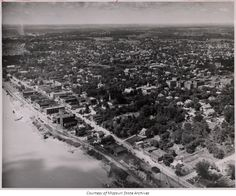 Aerial view of Cape Girardeau, 1949