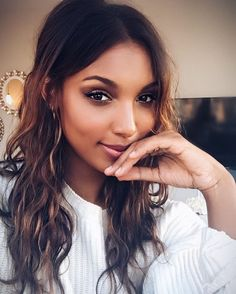 Muse: Model Jasmine Tookes is one of the many beautiful women of color who embody Leila's style #MiamiRealLove
