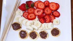 Nutella Mini Pancake Kabobs recipe - from Tablespoon!