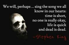 Stephen King is arguably the most prolific author of the last century. He was born in Portland, Maine in the second son of Donald and Nellie Ruth Pills. Stephen King Quotes, Stephen King Books, Horror Quotes, Psycho Quotes, Horror Books, Horror Movies, Steven King, The Dark Tower, Dark Quotes