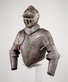 Armor of Fernando Alvarez de Toledo, Third Duke of Alba  Lucio Piccinino (Italian, Milan, active about 1575–90)