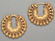 Achaemenid Gold Earring Hoops (500 BC - 400 BC)