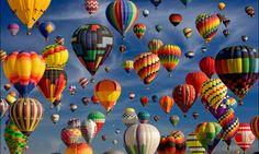 真っ青な空とカラフルな気球が綺麗過ぎる!アルバカーキ国際気球フェスティバル | RETRIP