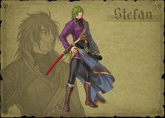 Fire Emblem 9 Path of Radiance  Stefan