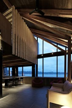 The amazing Villa SSK by Takeshi Hirobe Architects is as much a work of mathematics as it is architecture. Architecture Details, Interior Architecture, Interior Exterior, Interior Design, Espace Design, House In The Woods, Glass Design, Luxury Real Estate, Decoration