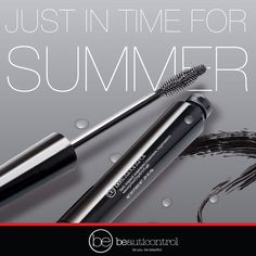 Be ready for any event this summer with our new lash impact waterproof mascara!  #beauticontrol