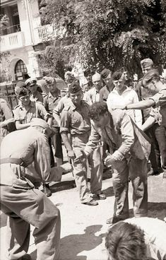 JUL 11 1942 'Black Sabbath' for the Jews of Salonika This type of public humiliation had been a feature of the early stages of persecution in other countries – particularly Poland. Greek History, Jewish History, Jewish Men, Lest We Forget, Black Sabbath, Thessaloniki, Persecution, Interesting History, Greece