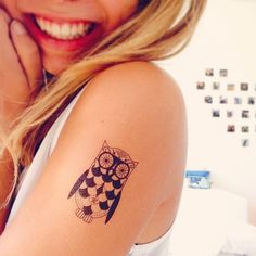 #owl #tattoo #girly #tattoos #ink