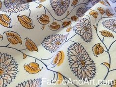 Block Printed fabrics from India, Indian cotton block print fabrics Textiles, Textile Prints, Textile Art, Indian Block Print, Indian Prints, Fabric Patterns, Print Patterns, Pattern Designs, White Springs