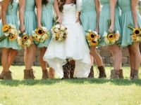 Country Chic Farm Wedding at Peltzer Farms in Temecula Valley Wine Country. #BootsandSkirts