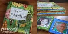 Baby Fabric Family Book