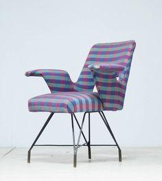 BBPR; 'Urania' Variation Armchair for Arflex, 1950s.