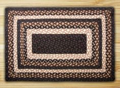 Earth Rugs Mocha Frappuccino Braided Area Rug are beautiful rugs that can make anywhere in your home have a country feeling!!!! On Sale Now!!!!